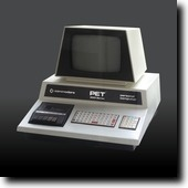 A Commodore PET 2001 from 1977